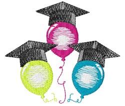 Grad Balloons embroidery design
