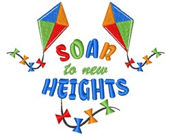 Kite Soar To New Heights embroidery design