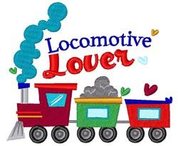Train Locomotive Lover embroidery design