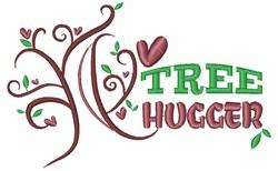 Tree Tree Hugger embroidery design