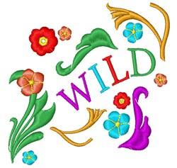 Wild Base embroidery design