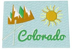 Colorado Colorado embroidery design