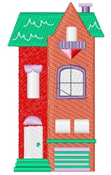 House Base embroidery design