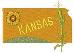 Kansas Kansas embroidery design