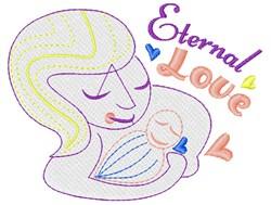 Mom Eternal Love embroidery design