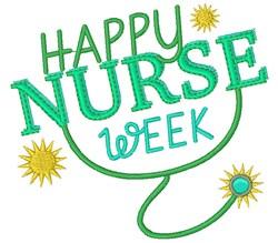 Nurse Happy Nurse Week embroidery design