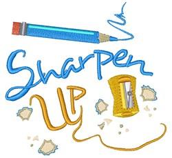 Pencil Sharpener Sharpen Up embroidery design