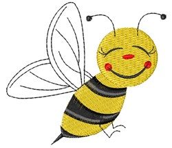 Bee Base embroidery design