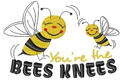 Bee You re The Bees Knees embroidery design