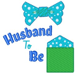 Husband To Be embroidery design