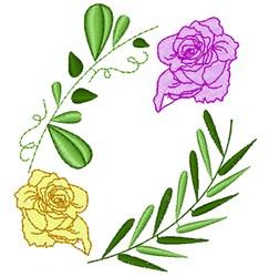 Wedding Florals embroidery design