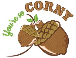 You re So Corny embroidery design