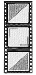 Film Strip embroidery design
