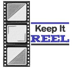 Film Strip Keep It Reel embroidery design