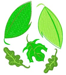 Greens embroidery design
