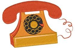 Retro Phone embroidery design