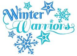 Winter Warriors embroidery design