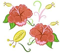 Summer Flower Base embroidery design