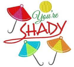 Umbrellas You re Shady embroidery design