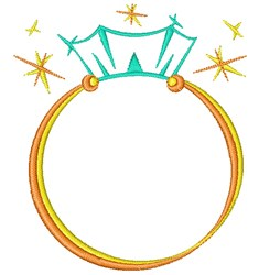 Wedding Ring embroidery design