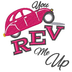 You Rev Me Up embroidery design