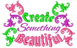 Fleur Create Something Beautiful embroidery design