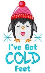 I ve Got Cold Feet embroidery design
