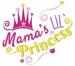 Mama s Lil Princess embroidery design
