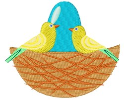 Bird s Nest embroidery design