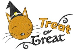 Treat Or Treat embroidery design