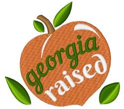 Georgia Raised embroidery design