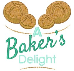 A Bakers Delight embroidery design