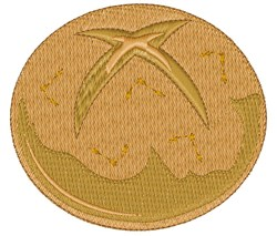 Roll embroidery design