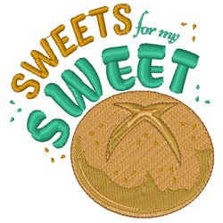 Sweets For My Sweet embroidery design