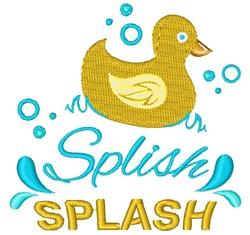 Splish Splash embroidery design