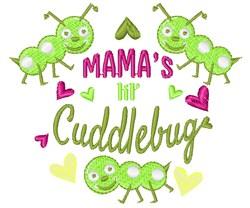 Mams Lil Cuddlebug embroidery design