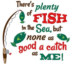 Fish In The Sea embroidery design