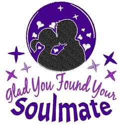 You Found Your Soulmate embroidery design
