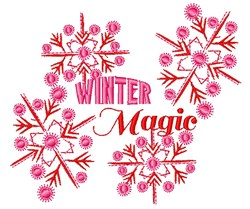 Winter Magic embroidery design