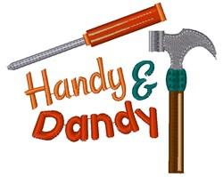 Handy & Dandy embroidery design