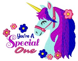 Youre A Special One embroidery design