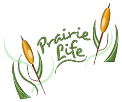Prairie Life embroidery design