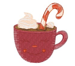 Hot Cocoa Base embroidery design