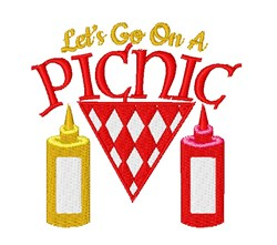 Picnic Let s Go On A Picnic embroidery design