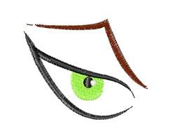 Scary Eye Base embroidery design