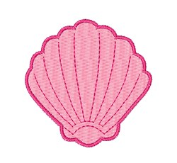 Sea Shell embroidery design
