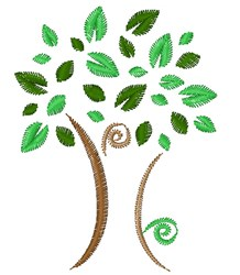 Tree Base embroidery design