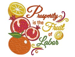 Fruit Of Labor embroidery design