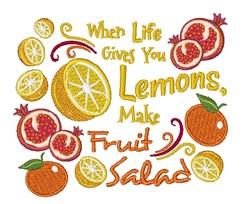 Make Fruit Salad embroidery design