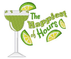 Happiest Of Hours embroidery design